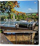 Saltford Locks  Acrylic Print