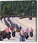 Salute To Veterans Rally Acrylic Print