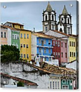 Salvador Brazil The Magic Of Color Acrylic Print