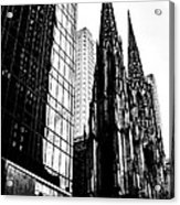 Salvation Among Giants Acrylic Print