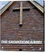 Salvation Acrylic Print by Doug Wilton