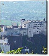 Salzburg Fortress Panorama Acrylic Print