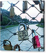 Salzburg Gypsy Locks Acrylic Print