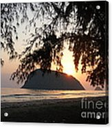 Sam Roi Yod At Dawn Acrylic Print