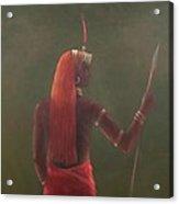 Samburu, 2012 Acrylic On Canvas Acrylic Print