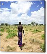 Samburu Chief Acrylic Print