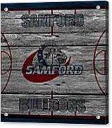 Samford Bulldogs Acrylic Print