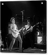 Sammy And Bill On Stage In Spokane In 1977 Acrylic Print