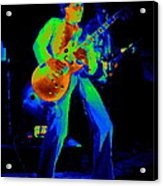 Sammy Cosmic Hagar In Spokane 1977 Acrylic Print