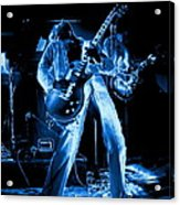 S H Bending A Cosmic Note In Spokane In 1977 Acrylic Print