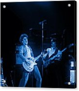 Sammy Plays The Blues In Spokane In 1977 Acrylic Print