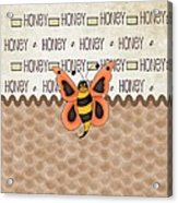 Sammy The Honey Bee Acrylic Print