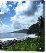 Samoan Coastline Acrylic Print