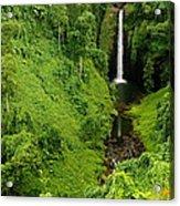 Samoan Waterfall Acrylic Print