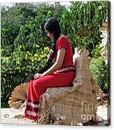 Samoa's Beauty Acrylic Print