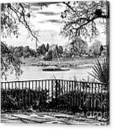 Sampit River View Acrylic Print by John Rizzuto