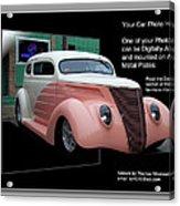 Sample Car Artwork Readme Acrylic Print