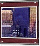 Sample Example Sunset On Ground Zero Acrylic Print