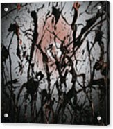 Samurai In The Weeds 2 Acrylic Print