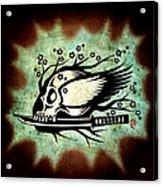 Samurai Spirit Acrylic Print