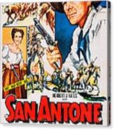 San Antone, Us Poster Art, From Left Acrylic Print
