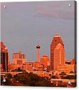 San Antonio - Skyline At Last Light Acrylic Print