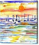 San Antonio Bay Acrylic Print