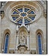 San Antonio Church 03 Acrylic Print