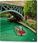 San Antonio Riverwalk Acrylic Print by Stefon Marc Brown