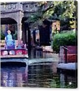 San Antonio Scene Acrylic Print