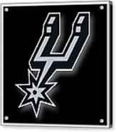 San Antonio Spurs Acrylic Print by Tony Rubino