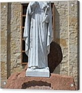 San Antonio Statue Acrylic Print