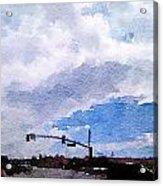 San Benito Sky Acrylic Print