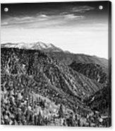 San Bernardino Snow Acrylic Print