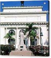 San Buenaventura City Hall Building California Acrylic Print