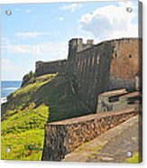 San Christobal Castle Old San Juan Acrylic Print