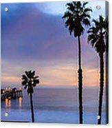 San Clemente Pier Acrylic Print by Radek Hofman