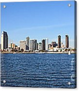 San Diego Ca Harbor Skyline Acrylic Print