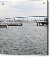 San Diego Coronado Bridge 5d24351 Acrylic Print
