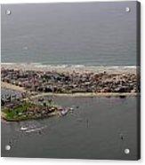 San Diego Mission Bay 3 Aerial Acrylic Print