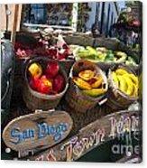 San Diego Old Town Market Acrylic Print