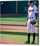San Diego Padres V Cleveland Indians - Acrylic Print