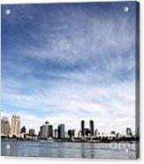 San Diego Skyline Acrylic Print