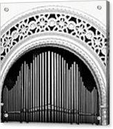 San Diego Spreckels Organ Acrylic Print