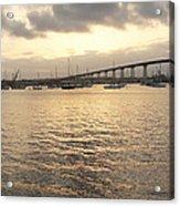 San Diego To Coronado Card Acrylic Print