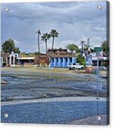 San Felipe Thunderstorm Acrylic Print