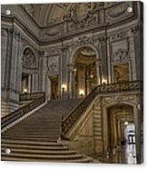 San Fran City Hall Acrylic Print