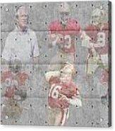 San Francisco 49ers Legends Acrylic Print