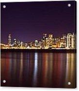 San Francisco At Nights Acrylic Print
