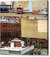 San Francisco Backstage Graffiti Acrylic Print
